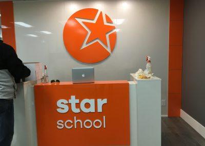 Star Kids 3D office Sign