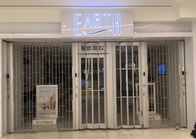 Earth 3D sign