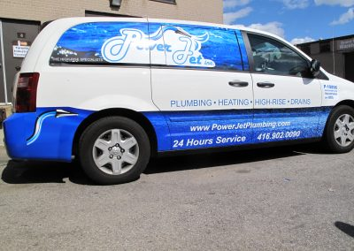 Power jet Vehicle Graphics