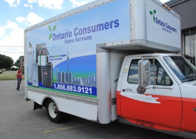 Ontario Consumers Vehicle Graphic