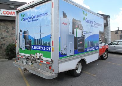 Ontario Consumers Vehicle Graphics