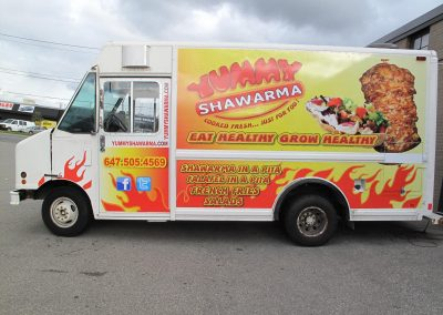 Shawarma Vehicle Graphics