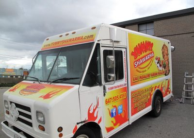 Shawarma Vehicle Graphic