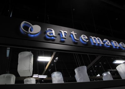 Artemano 3D Sign