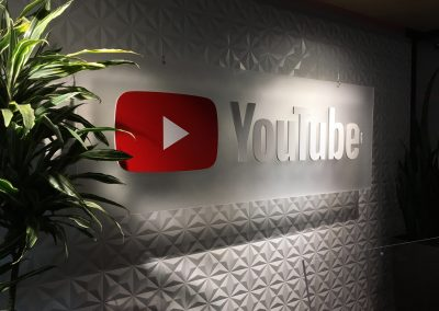 Youtube 3D Office sign
